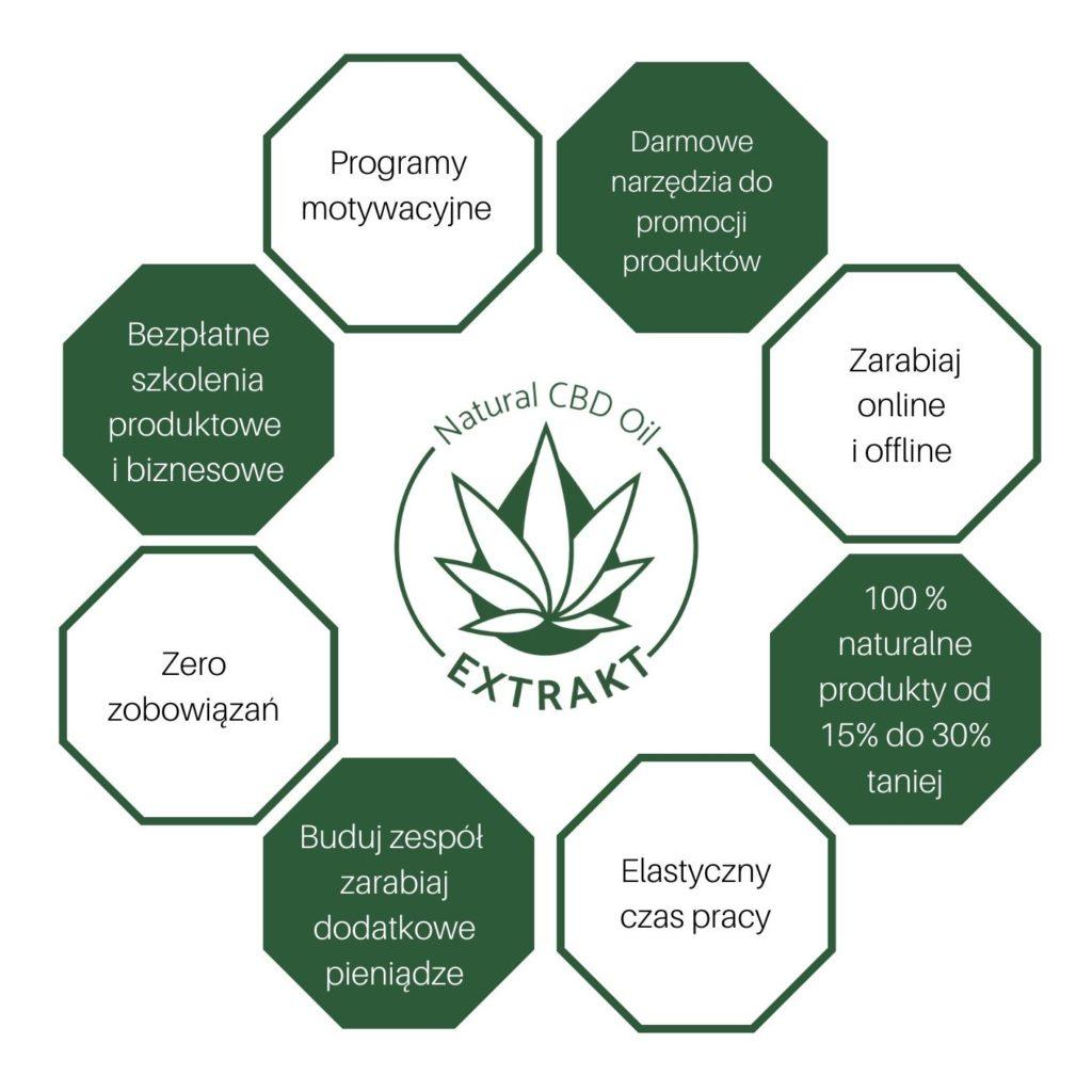 Program motywacyjny Extrakt - Natural CBD Oil
